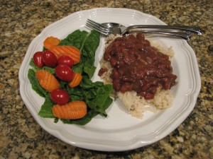 Healthy New Orleans Red Beans and Rice