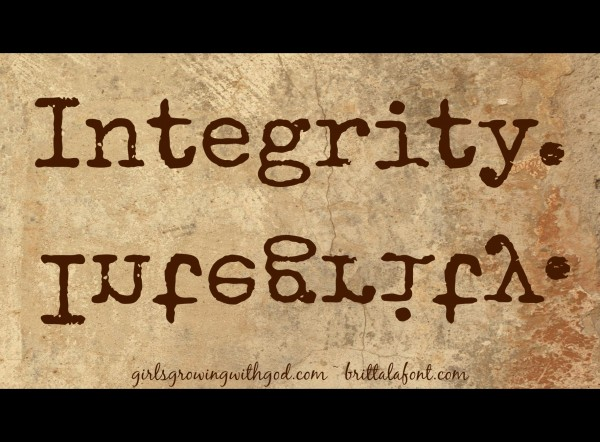 Integrity and Authenticity (Part 1)