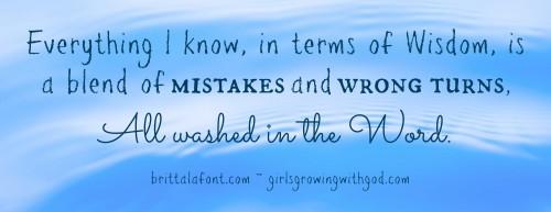 wisdom washed