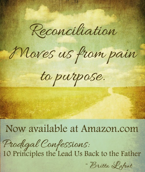 Prodigal Confessions and Reconciliation