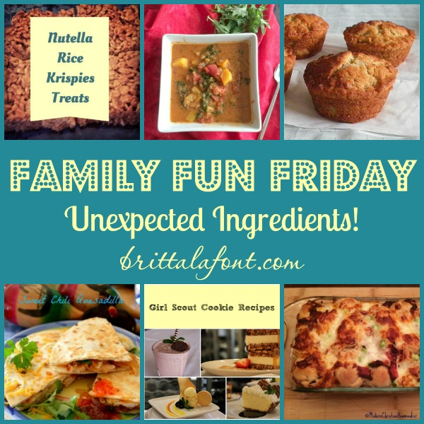 Unexpected Ingredients at Family Fun Friday