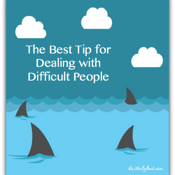 best tip for dealing with difficult people, relationships, christian living