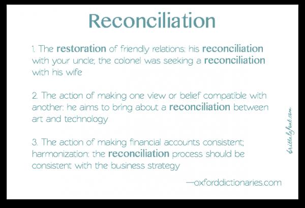 ReconciliationDefinition