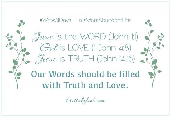 Word-Truth-Love