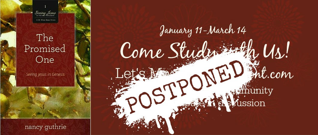 Come Study with Us POSTPONED