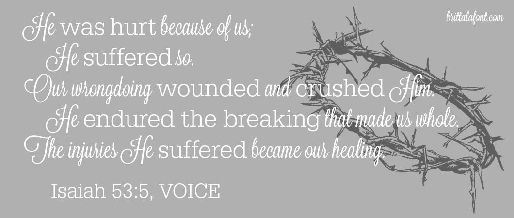 Jesus, Broken for Us