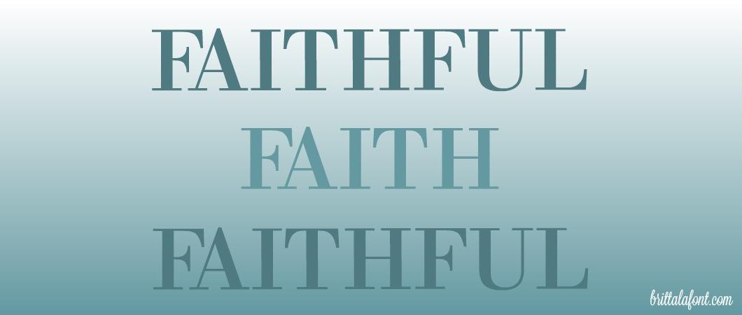 How Can We Be Faithful, Like God?