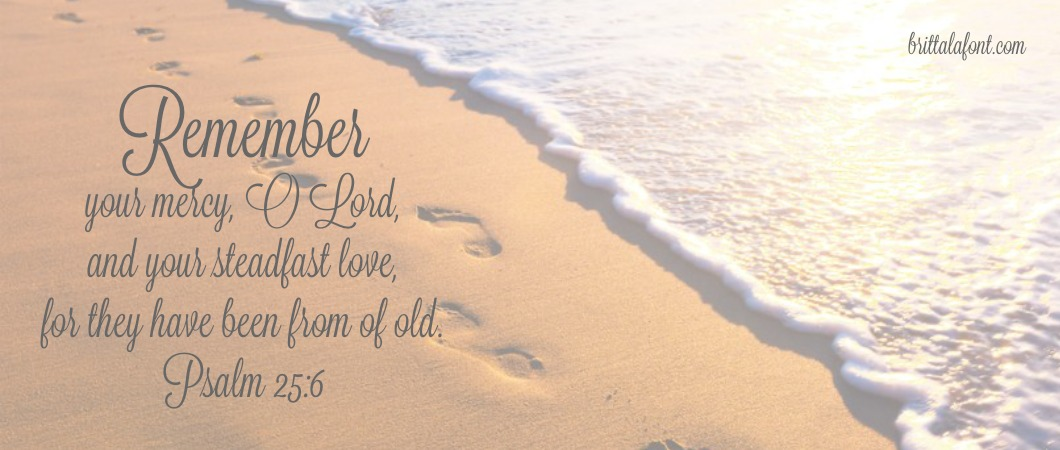 God remembers even when we forget